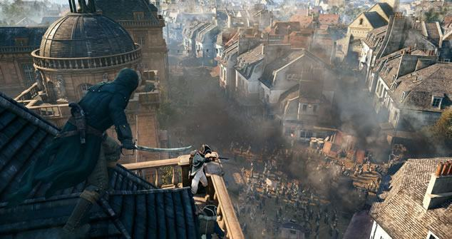 Assassin's Creed Unity possui cena com 10.000 personagens na tela