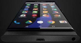 Surge nova imagem do Venice, o BlackBerry com Android