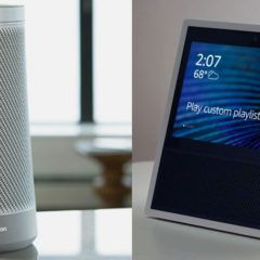 Assistentes evoluindo: novos Amazon Echo Show e Harman Kardon Invoke, com Cortana