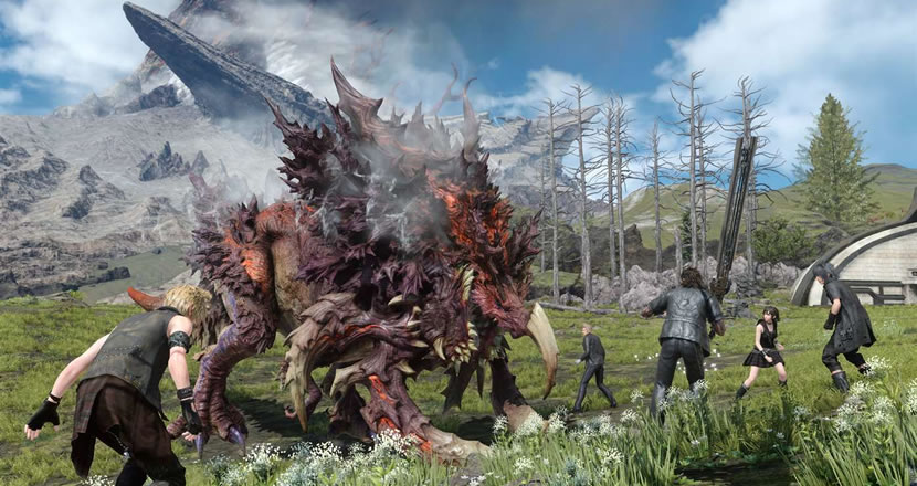 Final Fantasy XV para PC terá cross-play com Xbox One