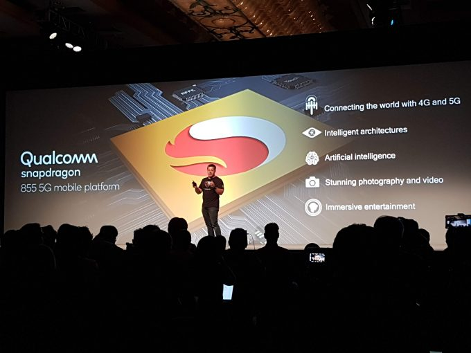 Novo Snapdragon 855 apresentado oficialmente no Snapdragon Technology Summit no Havaí
