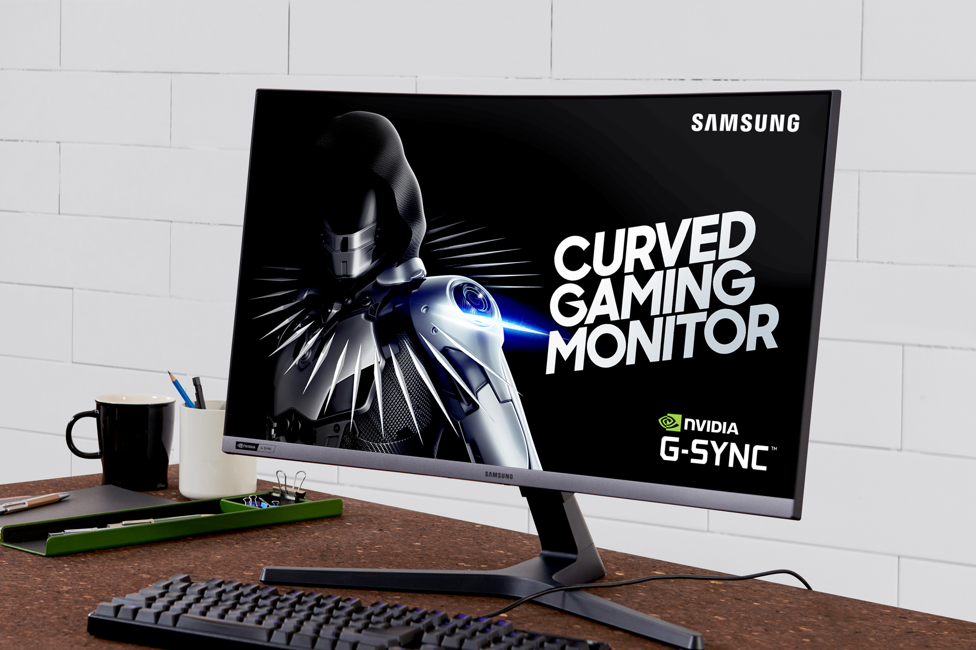 Samsung / monitor gamer CRG5