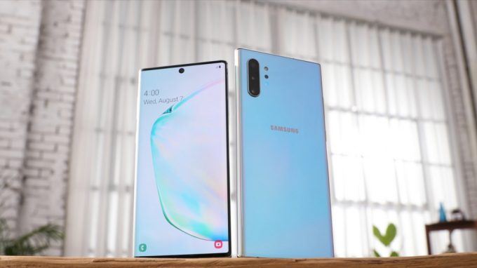 Galaxy Note 10 e Plus