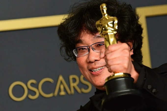 Bong Joon Ho, grande vencedor do Oscar 2020 / Foto: Frederic J. Brown/ AFP (Getty Images)