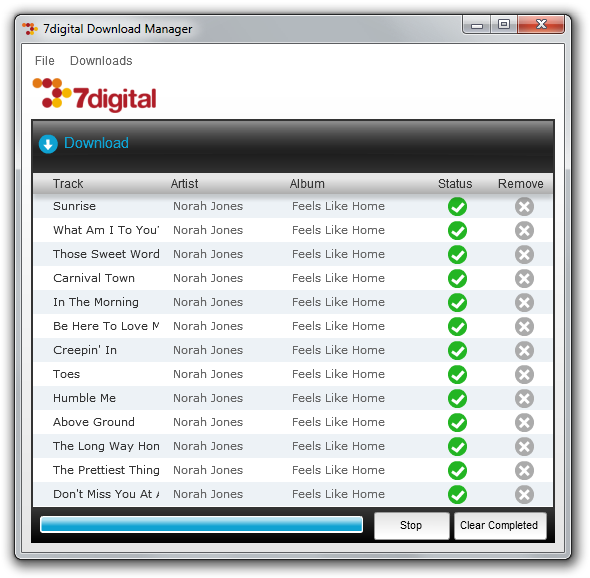 7digital Download Manager