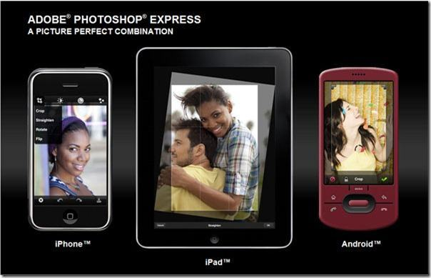 Photoshop Express para iPad