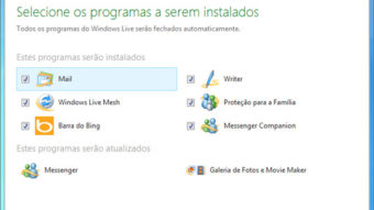 Messenger 2011 e demais aplicativos do Live Essentials são liberados para download
