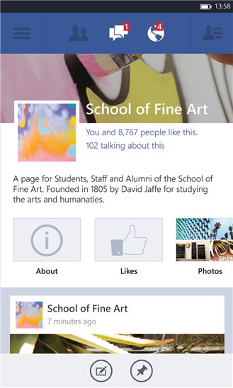 Novo Facebook para Windows Phone foge da interface Metro –