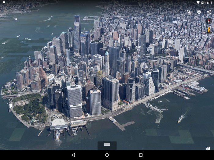 Google Earth 8.0 para Android