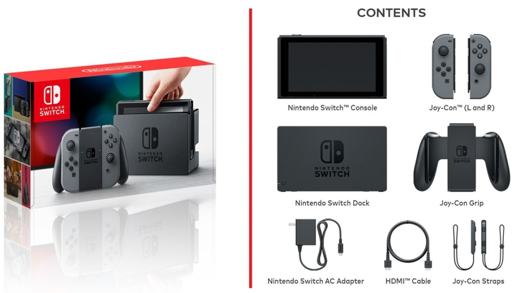 Nintendo Switch - kit
