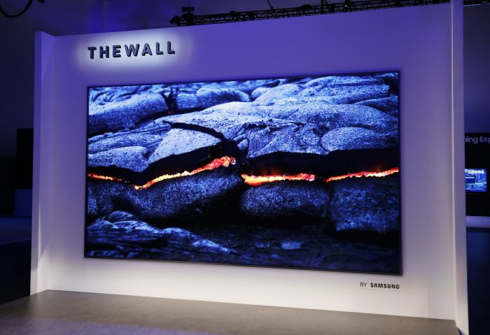 The Wall - TV modular microLED