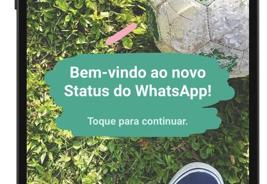 Novo Status do WhatsApp com Posts Temporários