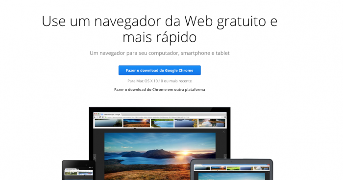 Instalador do Google Chrome