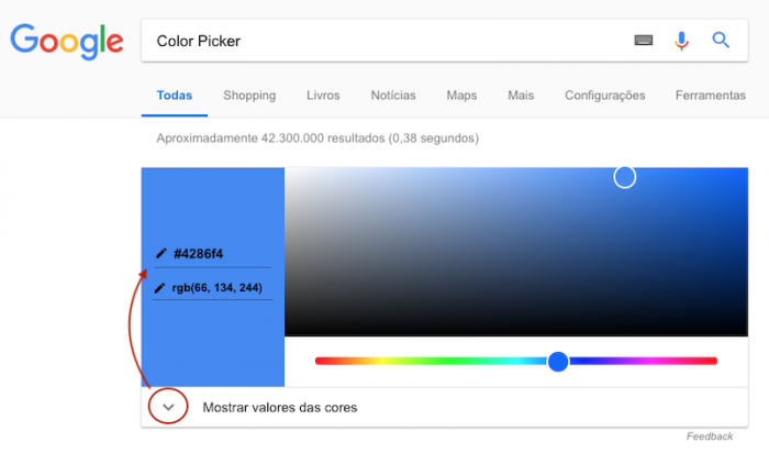 Color Picker - Google