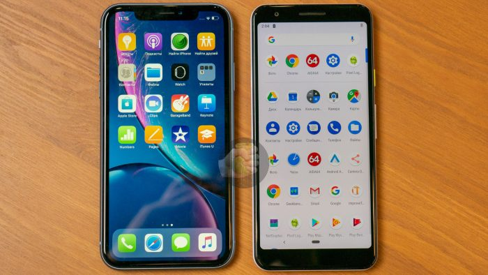 iPhone XR e Pixel 3 Lite (Foto: Wysla)