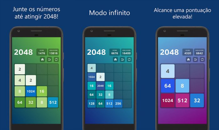 Android / 2048 / jogos offline