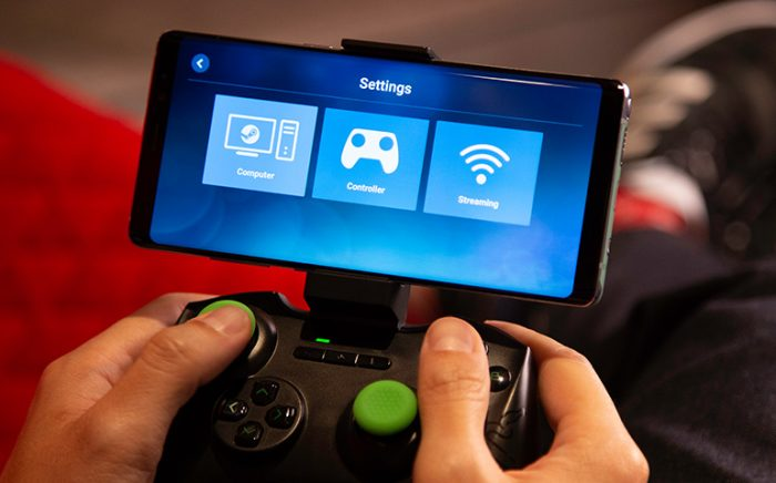 Valve / Steam Link no Android / streaming de jogos
