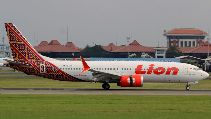 Boeing 737 Max 8 da Lion Air (foto: Bathara Sakti/Flickr)