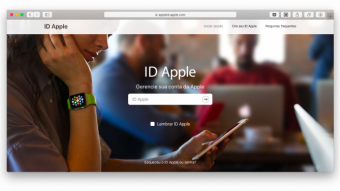Como alterar o país do Apple ID