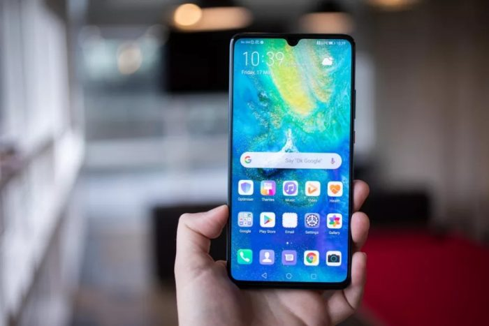Huawei Mate 20 X (5G) (Foto: Andrew Hoyle/CNET)