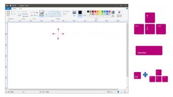 Microsoft Paint permite desenhar com teclado no Windows 10