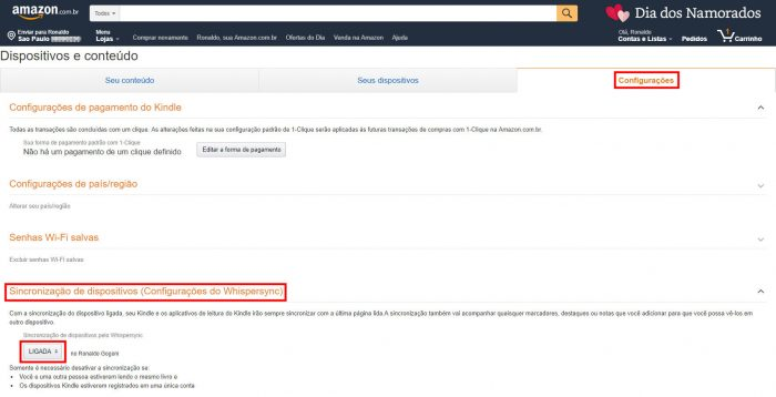 Amazon / dispositivos