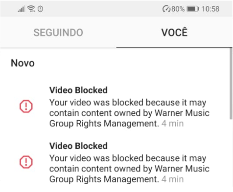 Video Blocked Instagram