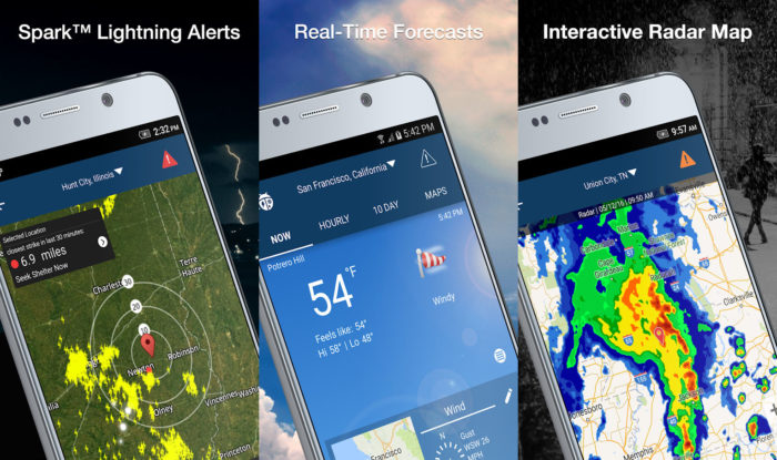 Android / WeatherBug / Hurricane Monitor