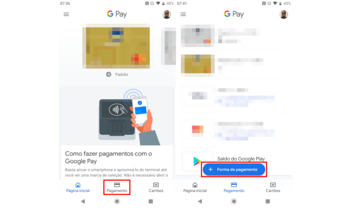 Android / Google Pay