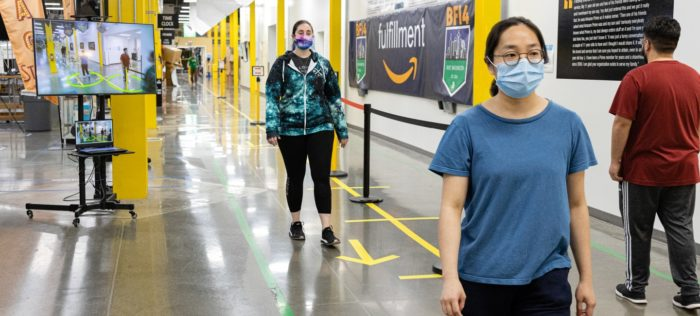 amazon inteligencia artificial armazem