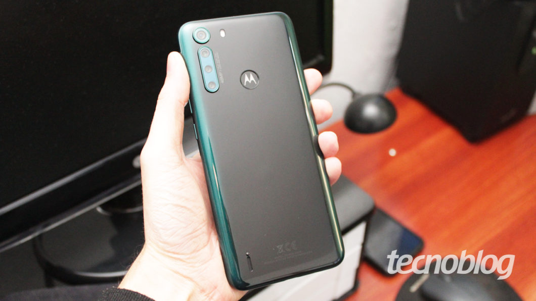 Motorola One Fusion - rear