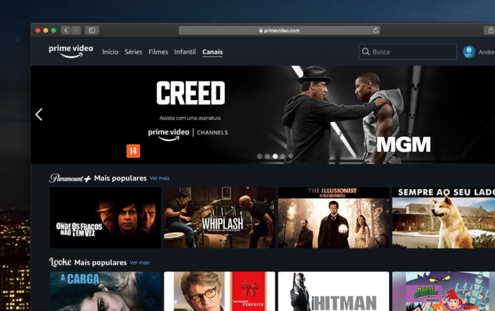 amazon prime channels web