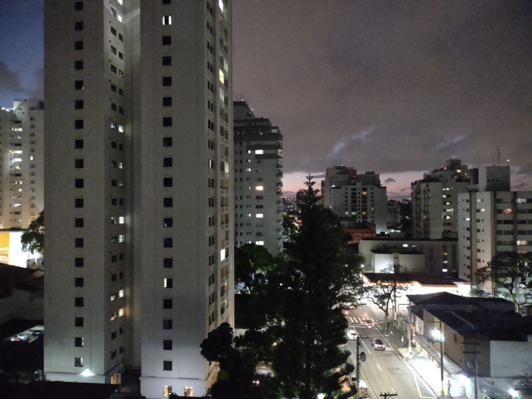 Without Night Vision mode (Image: Paulo Higa / Tecnoblog)