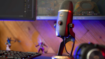 Microfone Blue Yeti X traz filtros de voz de World of Warcraft