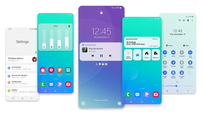 One UI 3.0 (image: reveal / Samsung)