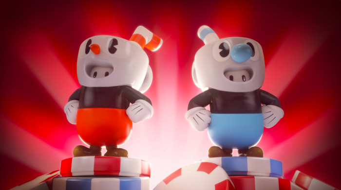 Fall Guys e Cuphead
